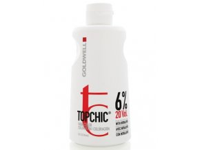 GOLDWELL Topchic Developer Lotion 6% (vol20) - krémový peroxid vodíků 1000ml
