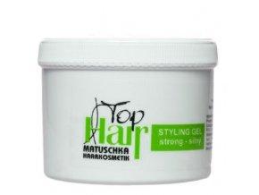 MATUSCHKA Top Hair - Stylingový gel na vlasy silně tužící 500ml