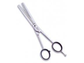 WITTE Solingen Rose Line nůžky na vlasy oboustranné efilační 6,0´ 82490