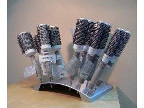 OLIVIA GARDEN Pro Ceramic Ion keramické kulaté kartáče na vlasy - Display 18ks