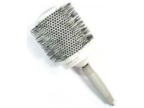 OLIVIA GARDEN Pro Mega C - Profesionální keramický kulatý kartáč na vlasy T 80