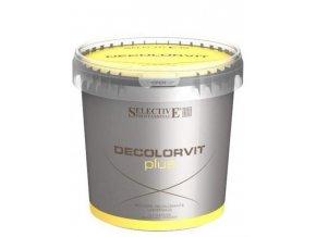 SELECTIVE Melír De Color Vit Plus - platinový odbarvovací prášek - melír 500g