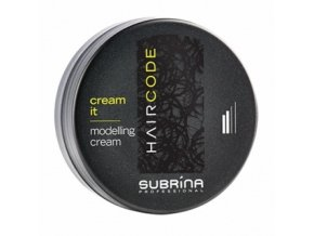 SUBRÍNA Hair Code Cream It Modelling Cream modelovací vlasový krém 100ml