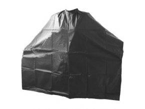 DUKO pláštěnky Kadeřnická PVC pláštěnka na barvení - dlouhá černá