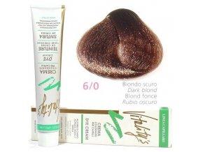 VITALITYS Green Permanentní krémová barva na vlasy - Tmavá blond 6-0