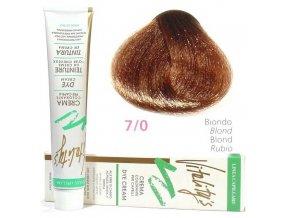 VITALITYS Green Permanentní krémová barva na vlasy - Blond 7-0