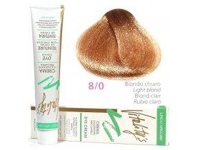 VITALITYS Green Permanentní krémová barva na vlasy - Světlá blond 8-0