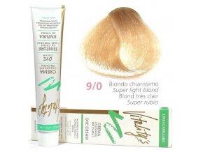 VITALITYS Green Permanentní krémová barva na vlasy - Nejsvětlejší blond 9-0
