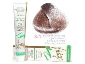 VITALITYS Green Permanentní krémová barva - Světle popelavá blond 8-1