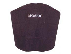 MOSER Doplňky Černá kadeřnická pláštěnka MOSER na suchý zip