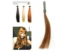 SO.CAP. Rovné vlasy Přírodní odstín 8001LC 35-40cm - světle hnědá 10