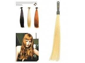 SO.CAP. Rovné vlasy Přírodní odstín 8001LC 35-40cm - světlá blond 20