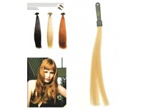 SO.CAP. Rovné vlasy Přírodní odstín 8001LC 35-40cm - popelavá blond DB2