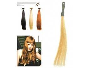 SO.CAP. Rovné vlasy Přírodní odstín 8001LC 35-40cm - zlatá velmi světlá blond 140