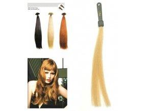 SO.CAP. Rovné vlasy Přírodní odstín 8000L 50-55cm - popelavá blond DB2