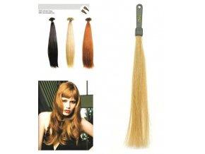SO.CAP. Rovné vlasy Přírodní odstín 8000L pro prodloužené vlasy 50-55cm - zlatá DB4