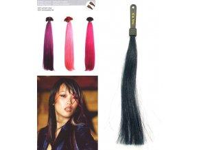 SO.CAP. Rovné vlasy 8009FC 35-40cm Fantazijní odstíny - Dark Blue