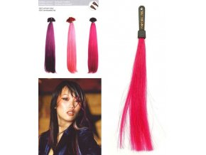 SO.CAP. Rovné vlasy 8009FC 35-40cm Fantazijní odstíny - Purplish Pink
