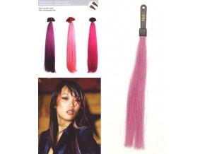 SO.CAP. Rovné vlasy 8009FC 35-40cm Fantazijní odstíny - Lilac