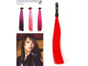 SO.CAP. Rovné vlasy 8006F 50-55cm Fantazijní odstíny - Red