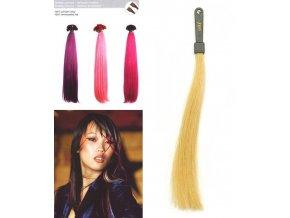 SO.CAP. Rovné vlasy 8006F 50-55cm Fantazijní odstíny - Gold