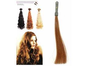 SO.CAP. Vlnité vlasy Přírodní odstín 8003MC 35-40cm - střední blond 12