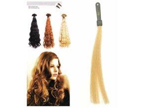 SO.CAP. Vlnité vlasy Přírodní odstín 8003MC 35-40cm - popelavá blond DB2