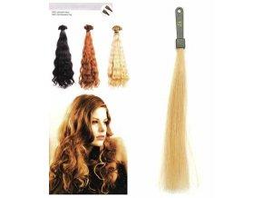 SO.CAP. Vlnité vlasy Přírodní odstín 8003MC 35-40cm - super blond 24