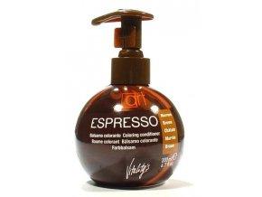 VITALITYS Espresso Barevný tónovací balzám na vlasy - Brown - hnědý 200ml