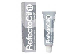 REFECTOCIL č.1,1 GRAPHITE - Profesionální barva na řasy, obočí a vousy 15ml - Grafitová
