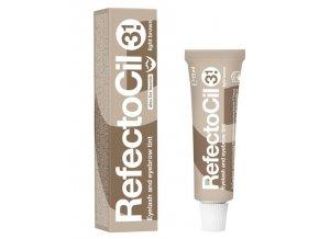 REFECTOCIL č.3,1 LIGHT BROWN - Profesionální barva na řasy, obočí a vousy 15ml - Světle hnědá