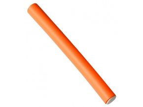DUKO Natáčky Kadeřnické papiloty na vlasy průměr 16mm - oranžové 10ks