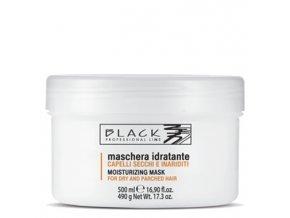 BLACK Péče o vlasy Hydratační vlasová maska pro suché a poškozené vlasy 500ml