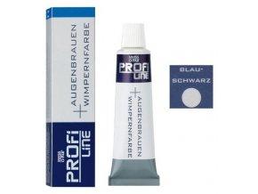 PROFI LINE Profesionální barvy na řasy a obočí 15ml - Modročerná