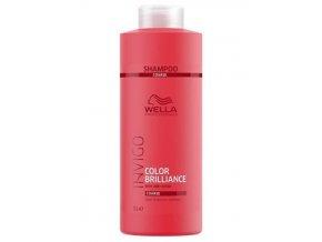 WELLA Invigo Color Brilliance Coarse Shampoo 1000ml - šampon pro silné barvené vlasy