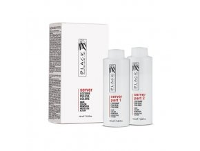 BLACK Server Hair Colour Remover odstraňovač, stahovač barvy z vlasů 2x100ml