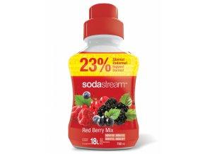 SODASTREAM Sirupy Red Berry Velký 750ml - sirup pro 18l nápoje