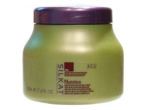 BES Silkat Nutritivo N3 Regenerační zábalová maska pro extrémně poškozené vlasy 500ml
