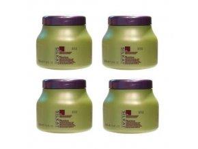 BES Silkat Nutritivo N3 Regenerační zábalová maska pro extra poškozené vlasy 500ml AKCE 3+1