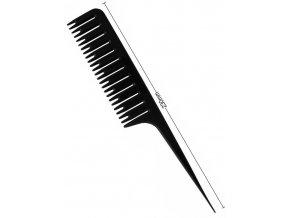 DUKO Pomůcky Rozřádkovávací plastový hřeben na melírování vlasů - 23cm