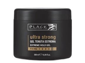 BLACK Styling Ultra Strong Gel - modelovací gel na vlasy ultra silně tužící 500ml