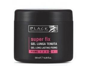 BLACK Styling Super Fix Gel - gel na vlasy extra silně a dlouhodobě  tužící 500ml