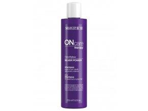 SELECTIVE ONcare Silver Power Shampoo - šampon na melírované vlasy 250ml