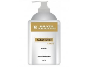 BRAZIL KERATIN Gold Conditioner regenerační keratinový kondicionér se zlatem 500ml