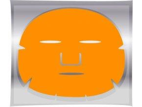 BRAZIL KERATIN Golden Mask - pleťová maska na obličej proti vráskám 1ks