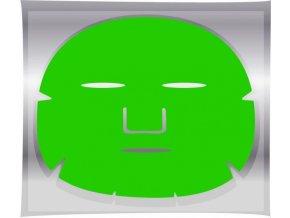 BRAZIL KERATIN Green Tea Mask - regenerační pleťová maska na obličej 1ks
