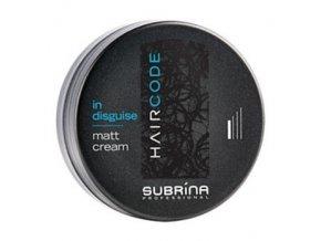 SUBRÍNA Hair Code In Disguise Matt Cream matující krém pro přirozený vzhled účesu 100ml