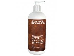 BRAZIL KERATIN Shampoo Chocolate hloubkově regenerující keratinový šampon 550ml