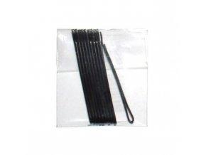 DUKO Sponky na vlasy 4cm - černé