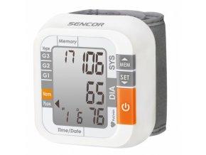 SENCOR SBD 1470 Tlakoměr na zápěstí - digitální s LCD displayem